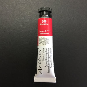 Daler-Rowney Artist Watercolour - Carmine 509 - 5ml tube