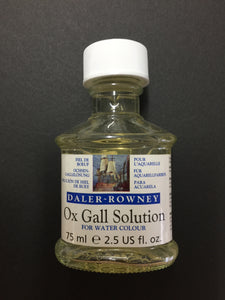 Daler Rowney Ox Gall Solution (for watercolour) - 75ml