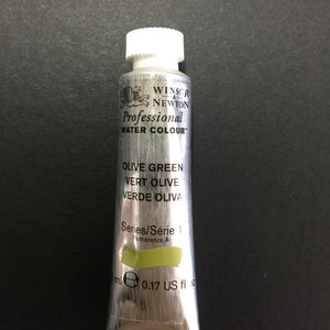Winsor & Newton Professional Watercolour Olive Green - Series 1 - 5ml tube