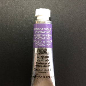Winsor & Newton Professional Watercolour Winsor Violet (Dioxazine) - Series 1 - 5ml tube