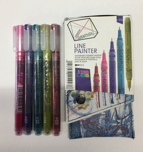 Derwent Line Painter set of 5 #03