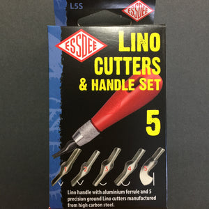Lino Cutters & Handle Set