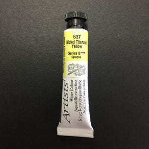Daler-Rowney Artist Watercolour - Nickel Titanate Yellow 637 - 5ml tube
