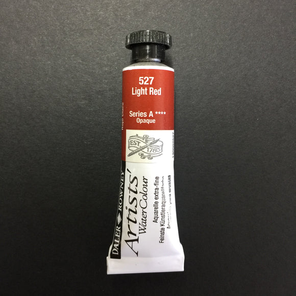 Daler-Rowney Artist Watercolour - Light Red 527  - 5ml tube