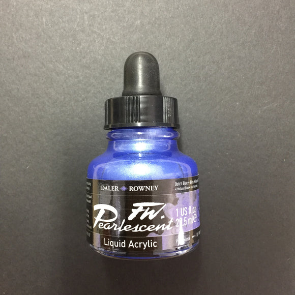 FW Artist Ink - Pearlescent Dutch Blue
