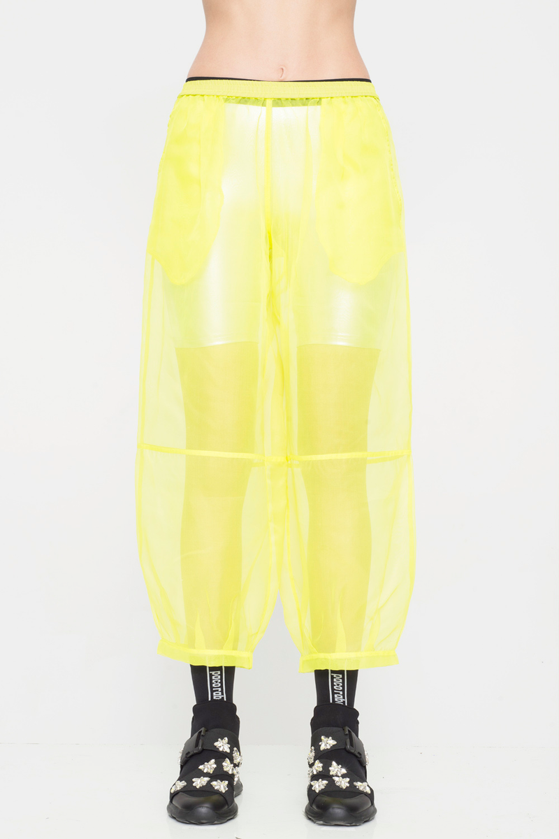 Silk Organza Balloon Pant