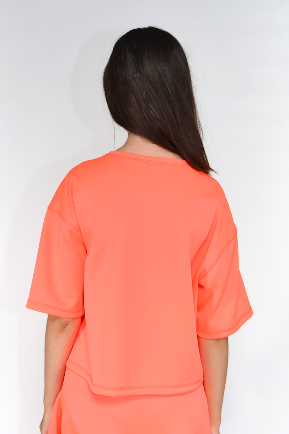 Poly Cropped T-Shirt