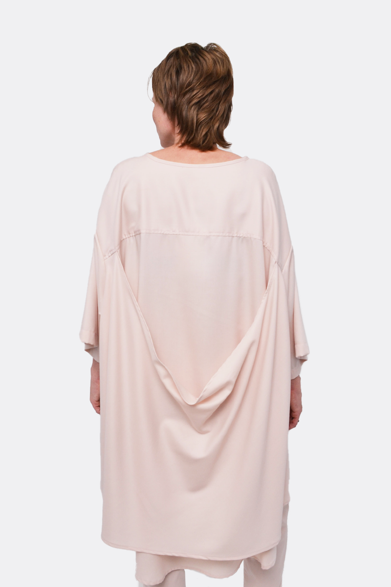 Drape Back Top