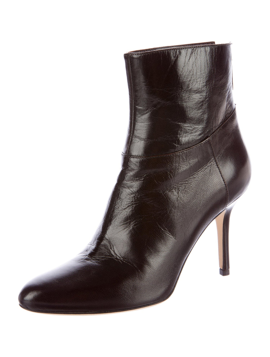 Jimmy Choo Keagan ankle boots; dark brown