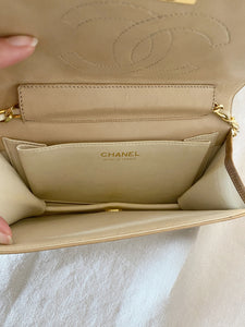 Chanel beige bag €1300 (rpp €3500)