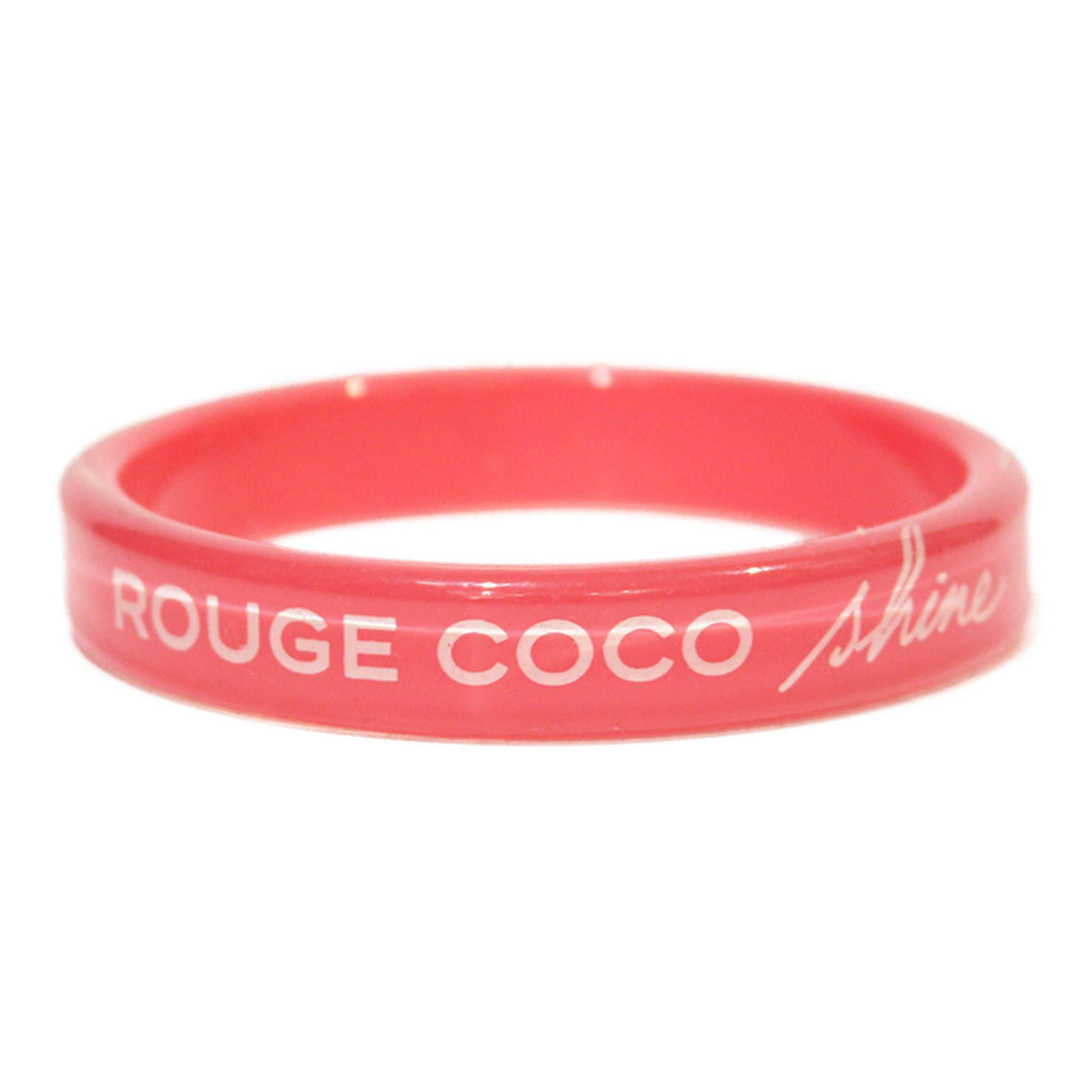 Chanel Rouge Coco Shine bracelet in pink resin