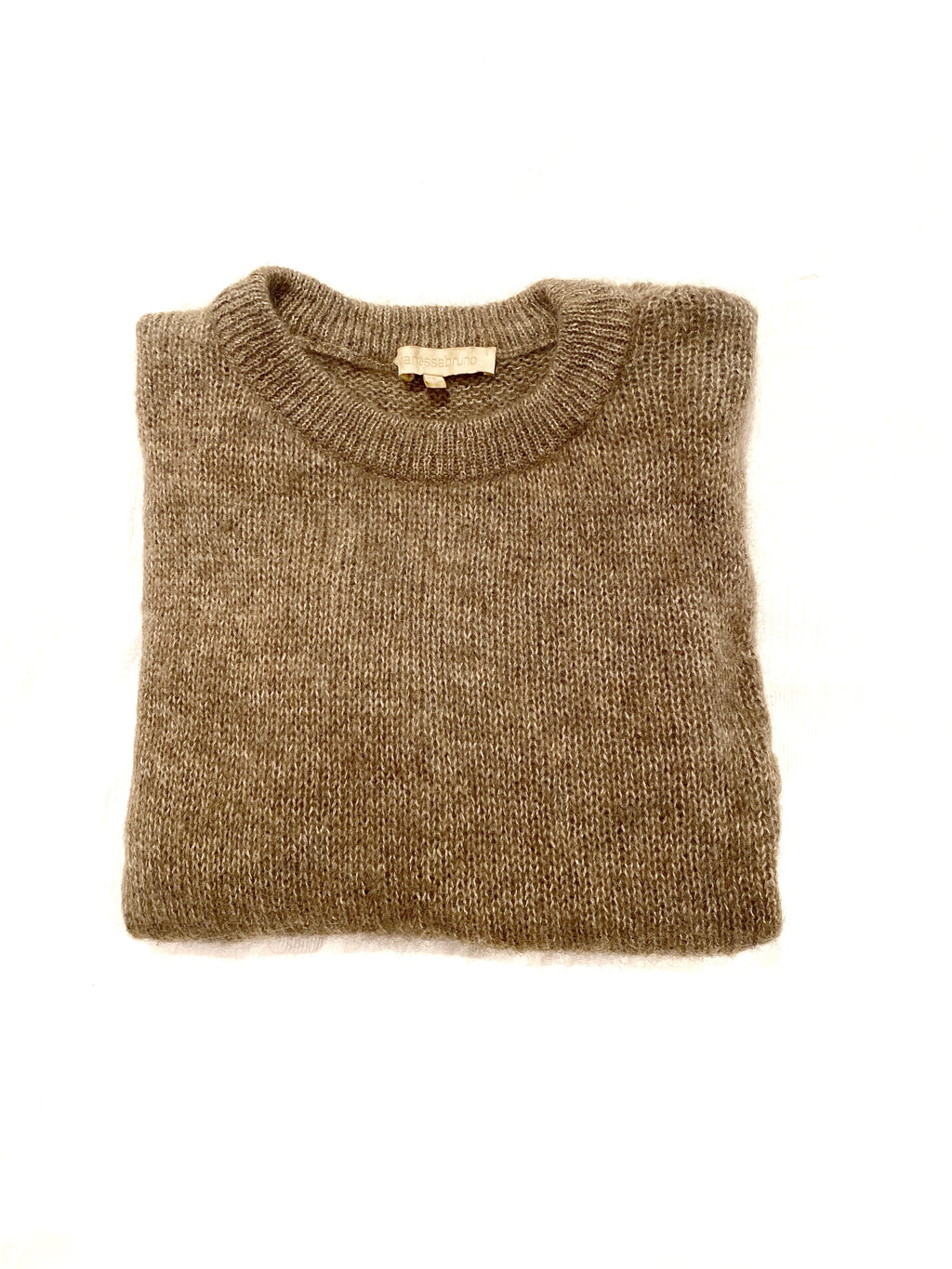 vanessa bruno sweater, mohair, beige colour, size 1