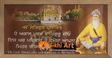 Harmandir Sahib Golden Temple Amritsar Punjab With Baba Deep Singh Ji Photo Picture Framed - 40 X 20