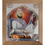 Guru Gobind Singh Ji Small Picture Frame Photo with frame in Size - 7 x 5