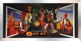Art Of Punjab Bhangra Dancers In Punjabi Culture In Size - 40 X 20