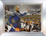 Guru Gobind Singh Ji On Baisakhi In Size - 12 X 9