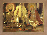 Guru Nanak Dev Ji And Guru Gobind Singh Ji In Size - 16 X 12