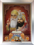 Guru Nanak Dev Ji And Guru Gobind Singh Ji In Size - 28 X 20