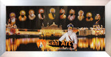Harmandir Sahib Golden Temple Amritsar Punjab India At Night In Size - 28 X 13