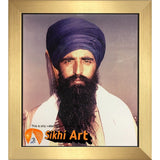 Martyr Sant Jarnail Singh Bhindranwale Picture Frame 36 X 24