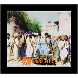 Sant Jarnail Singh Bhindranwale Fighting For Faith And Nation Picture Frame 10 X 8