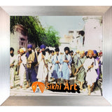 Sant Jarnail Singh Bhindranwale Fighting For Faith And Nation Picture Frame 36 X 24