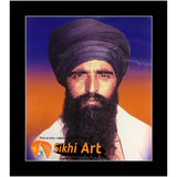 Sant Jarnail Singh Bhindranwale From Damdami Taksal Picture Frame 16 X 12