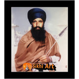 Sant Jarnail Singh Bhindranwale Picture Frame 24 X 20