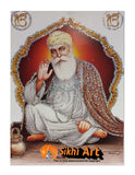 Siri Guru Nanak Dev Ji Small Desktop Picture Frame Photo with frame in Size - 7 x 5