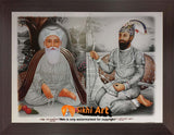 Guru Nanak Dev Ji And Guru Gobind Singh Ji In Size - 12 X 9