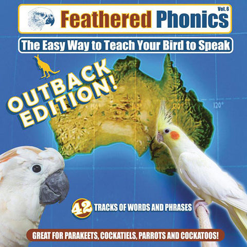 Feathered Phonics CD 6: The Australian Outback Edition! - Pet Media Plus