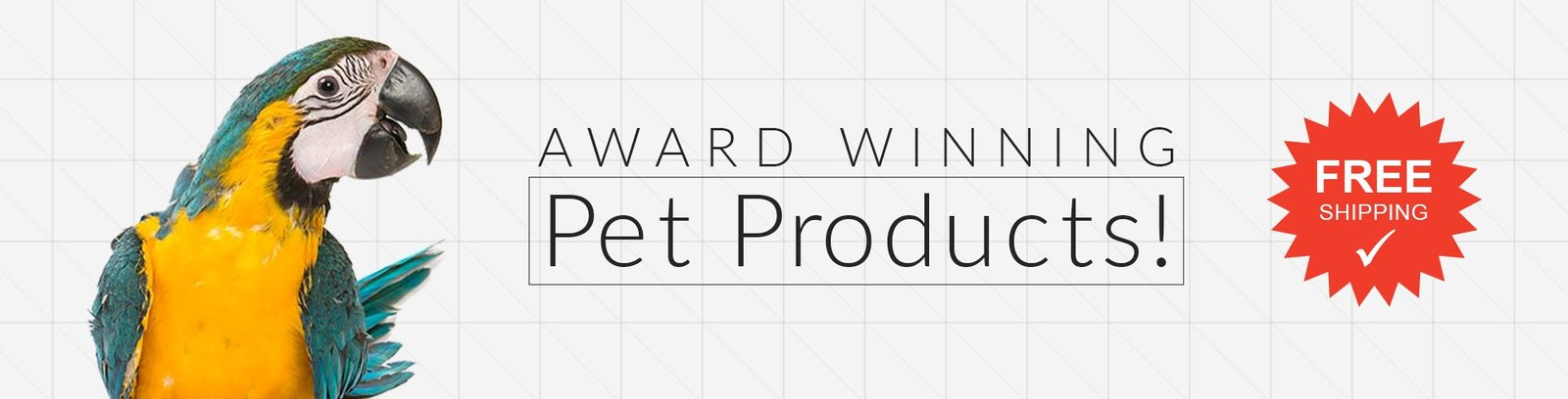 Award Winning Pet Products with Free Shipping! Pet Media Plus - teach your parrot to speak