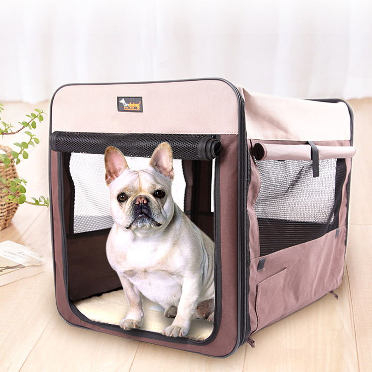 Pet Rest Bed Tent Breathable Dog Folding Tent Car Dog Cage Outdoor