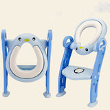 Potty Training Baby Toilet Seat with Step Stool Ladder for Kids-friendly