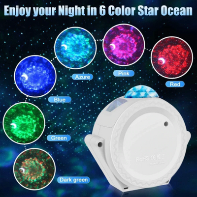LED Starry Night Micro Galaxy Projector