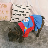 Super Mario Dogs Cotton Summer Shirt Costume For Small Medium Dogs