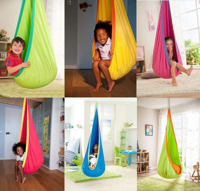 Child Pod Swing Chair Tent Nook Indoor Outdoor Hanging Seat Hammock