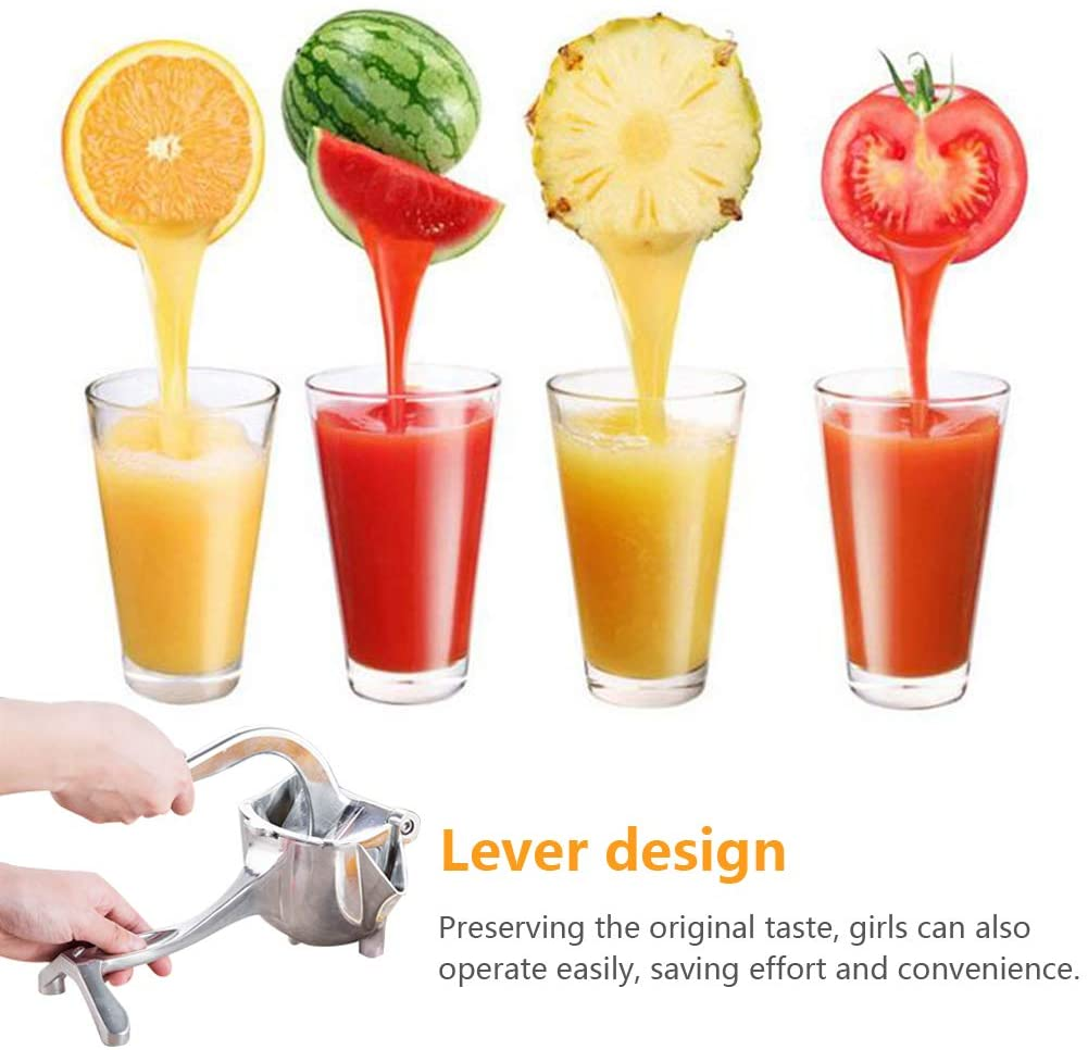 Manual Juicer Hand Squeezer Lemon Orange Juicer Manual Kitchen Fruit Press Squeezer