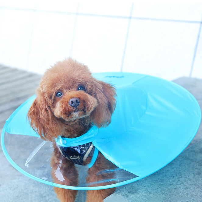 UFO Dog Raincoat Waterproof Small Medium Dogs Rainproof Jackets