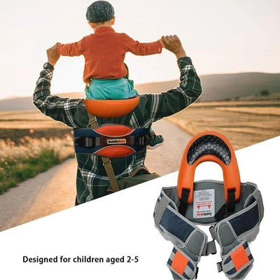 "Beberâ""?Hands-Free Kids Shoulder Carrier - BigBoomidea"