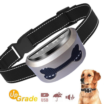 Dog Bark Stop Collar No Bark Control Device for Dog Pet