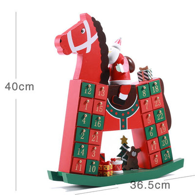 Wooden Advent Calendars Christmas Countdown