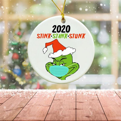 Christmas Ornaments 2020 Stink Stank Stunk Grinch