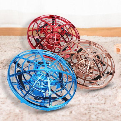 Mini Hand-Controlled Drone Flying UFO Induction Vehicle Kids Toy
