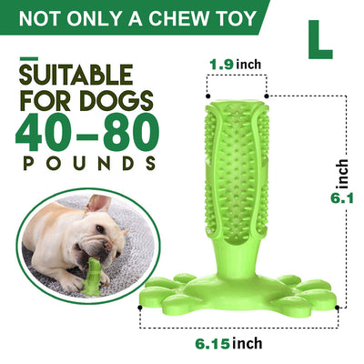 Dog Toothbrush Stick Tooth Cleaner Pet Chew Teeth Cleaning Massager