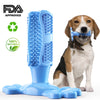 Blue Dog Toothbrush Stick Tooth Cleaner Pet Chew Teeth Cleaning Massager
