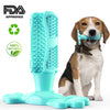 Lake Blue Dog Toothbrush Stick Tooth Cleaner Pet Chew Teeth Cleaning Massager