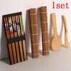 14pcs/set DIY Bamboo Sushi Maker Set Rice Sushi Making Kits Roll Cooking Tools