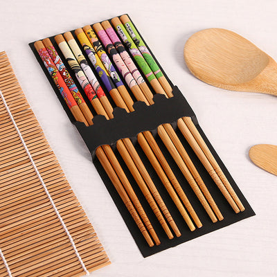 Haerbao™ DIY Bamboo Sushi Maker Set Rice Sushi Making Kits Roll Cooking Tools 14pcs/set