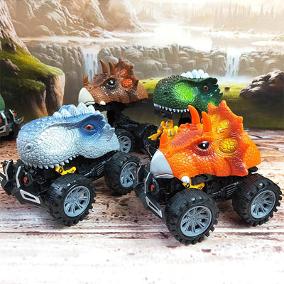 LED Electric Dinosaur Car Toy For Kids